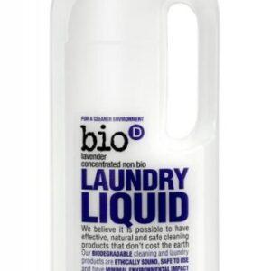 Bio-D Tekutý prací gel s vůní levandule (1 l) - vhodný i pro velmi jemné materiály