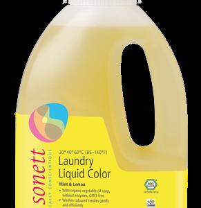 Sonett Tekutý prací gel na barevné prádlo BIO (1