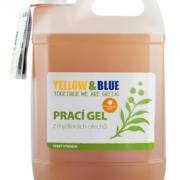 Yellow&Blue Prací gel s pomerančem (5 l) - z bio mýdlových ořechů