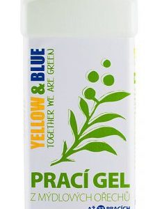 Yellow&Blue Prací gel bez vůně (1 l) - z bio mýdlových ořechů