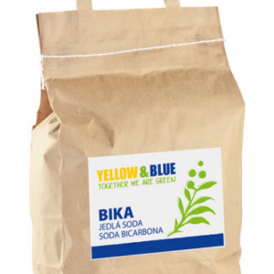 Yellow&Blue BIKA – Jedlá soda (Bikarbona) (pytel 5 kg)