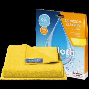 E-cloth Sada hadříků do koupelny (2 ks) - hadřík na koupelny a leštící hadřík