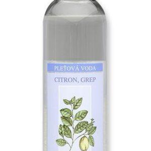 Nobilis Tilia Pleťová voda citron-grep (200 ml) - s certifikátem cpk