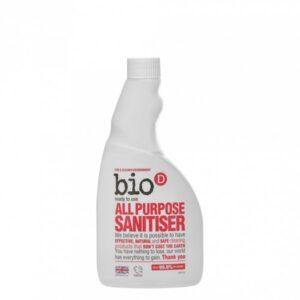 Bio-D Univerzální čistič s dezinfekcí (500 ml) - náhradní náplň - s pomerančovým olejem