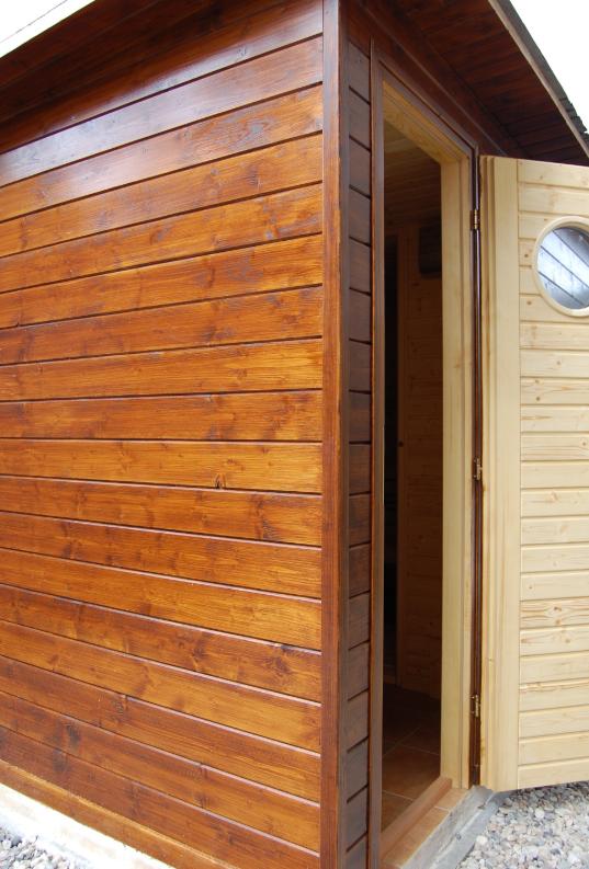 Tradiční finská sauna