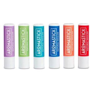 Aromastick Přírodní inhalační tyčinka - Soustředěnost - 100% bio esenciální oleje