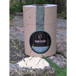 Haaro Naturo Práškový šampon na mastné vlasy (150 g)