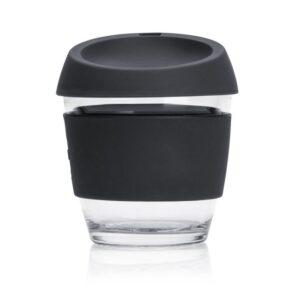 Jococup (236 ml) - černý - z odolného borosilikátového skla