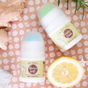laSaponaria Deodorant roll-on extra jemný s měsíčkem BIO (50 ml)