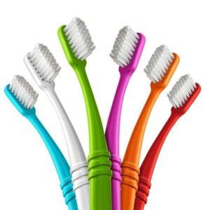 Preserve Zubní kartáček (ultra soft) - azurový - z recyklovaných kelímků od jogurtů