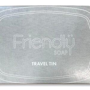 Friendly Soap Hliníková cestovní krabička na mýdlo - k uchování a převážení mýdla
