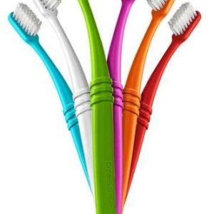 Preserve Zubní kartáček (soft) - azurový - z recyklovaných kelímků od jogurtů