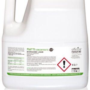 Officina Naturae Extra koncentrovaný gel na nádobí - bez parfemace (4 l)