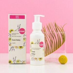 Kvitok Mycí olej Čisté ruce (100 ml) - vhodný i pro děti